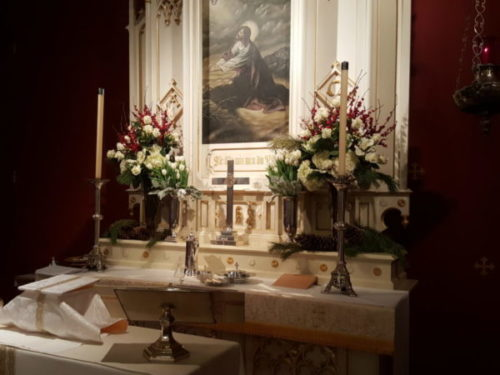 Altar at St. Francis